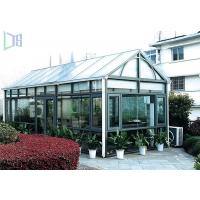 DIY Design Aluminium Frame Greenhouse Thermal Break Insulation System Manufactures