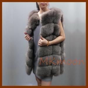 Buy cheap Fox fur gilet, Fox fur vest  -L107# from wholesalers