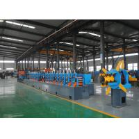 High Performance Tube Mill Machine , Square Pipe Production Line Manufactures