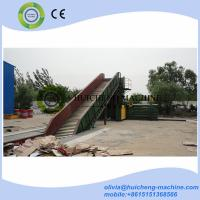 Quality municipal solid waste baler waste compactor for cardboard auto-tie horizontal for sale