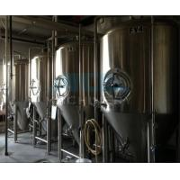 beer brewing equipment/dimple plate jacketed beer fermenter, bright beer tank 100-3000L Manufactures