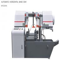 Energy Saving Automatic Bandsaw Machine With Hydraulic Feed Saw Frame Manufactures