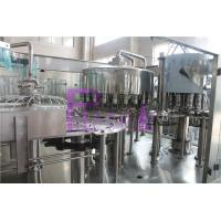 Full Auto Mineral Water Filling Machine 8000 Bottles Per Hour Speed Manufactures