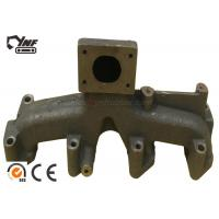 OEM Excavator Engine Parts 4BD1 Engine Exhaust Manifold 6 Months Warranty Manufactures