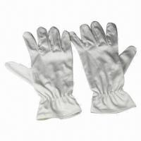 Microfiber Cleaning Gloves for watch/jewelry, we can do OEM service, customized sizes, logos, print  Manufactures