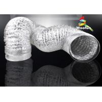 Hydroponic Grow Tent Ventilation Aluminum Foil Ducting Heat Resistant Silvery Manufactures