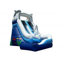 Cartoon Color Childrens Inflatable Bouncy Castle With Excellent Air Tightness Manufactures