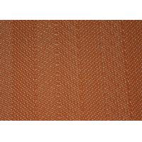 Durable Polyester Mesh Belt Desulfurization Filter Cloth Screen 27508 Brown Color
