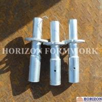 Height 300mm Wedge Lock Scaffolding SystemStarting Base Collar Silver Galvanized Manufactures