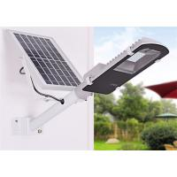Small Solar Sensor Wall 60W Led Area Light Smd Led Street Light All In One Manufactures