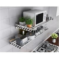 Sturdy And Durable Kitchen Organizer Rack SUS304 Stainless Steel With Multi Layer Manufactures
