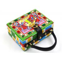 China Leather Printing Sparkly Ladies Clutch Bag , Light Diamante Prom Clutch Bag on sale