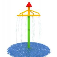 China Cone Shower Indoor Water Play Equipment , Garden Landscape Fountain on sale