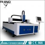Industrial Fiber Metal Laser Cutting Machine With 750W Raycus Laser Generator Manufactures