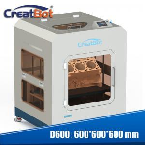 Quality 110-220V Nylon Printing Machine , Industrial CreatBot D600 3D Printer for sale