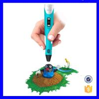 Three Dimensional 3d Drawing Pen , Multi Color Smallest 3d Printing Pen Manufactures