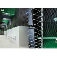 Stainless Steel Wire Rope Mesh High Strength For Architectural Models Manufactures