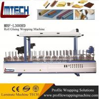 wood profile wrapping machine set up Manufactures