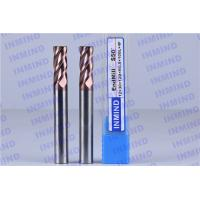 SiN Coating 12 mm Dia R0.5 Corner Radius End Mill 4 Flute 30 mm Cutting Length Manufactures