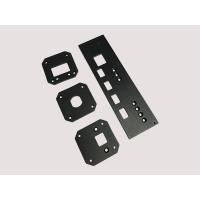 Quality CNC Machining Aluminum Parts Front Audio Panel With Milling ISO for sale