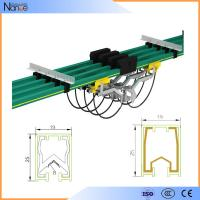 Aluminum Conductor Rail System Busbar / Single Pole Cross Travel System JDC-H Manufactures