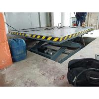 China Custom Electric Hydraulic Dock Lift Platform Scissor Table Lift 3000kg on sale