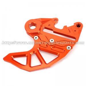 Dirt Bike Parts KTM Rear Disc Guard SX EXC 6061 Aluminum Orange Silver Blue