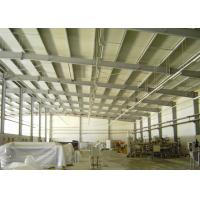 China Professional designed and manufacture quick assembly flexible structural steel  workshop on sale