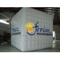 White Fireproof Cube Balloon Manufactures