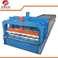 China Half Round Glazed Tile Making Machine SB 23 - 165 - 1100 For Roof Making on sale