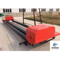 Electric Switch Road Roller Machine , Triple Roller Tube Paver For Airport Roads Manufactures