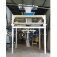 China 6KW Rubbers Crumbs Ton Bagger Packing Machine DCS-50L/2T on sale