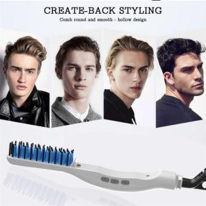 Electric Beard Hair Comb for Men Beard Straightening Comb Curly Hair Straightening Curler Men