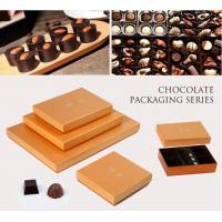 Customized Chocolate Packaging Boxes / PVC Window Square Shape Box Manufactures