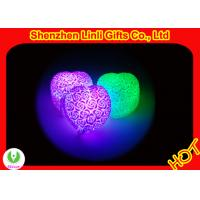 HOT!!! pvc body led heart gift best valentines day gifts 6*7*4.5cm Manufactures