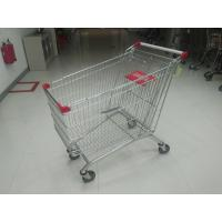 Buy cheap 240L Supermarket Shopping Carts With PPG Powder / Anti UV Plastic Parts from wholesalers