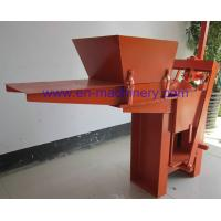 Low Cost to Build House 2-40 Manual Clay Brick Pressing Machine Block Making Machine Manufactures