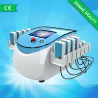 Blue Safety Portable 650nm Lipo Laser Slimming Machine For Stomach Face Hips Lose Weight Manufactures