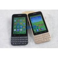 China Android MTK6572 Chip Dual Core Smartphones Dual Camera 3G Talk 3.5 Inch HVGA on sale