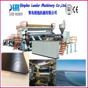 HDPE Geomembrane production machine, Plastic sheet production machine Manufactures