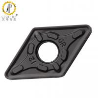 DNMG1506 Tungsten Carbide Cutter Turning Inserts With Black CVD Coating Manufactures