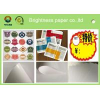 C2s 100% Virgin Pulp Glossy Printing Paper For Label High Stiffness Manufactures