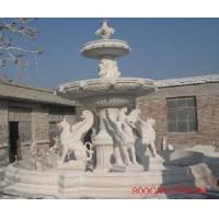 China Marble Carved Fountain / Water Fountain (LY-092) on sale