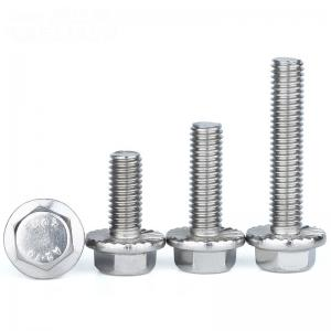 Welding DIN 6921 A2 M8x20 Stainless Steel Flange Bolt Manufactures