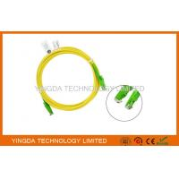 China HUBER + SUHNER E2000 / APC SC Fiber Optic Patch Cable 3 Meters / Fiber Optic Jumpers on sale