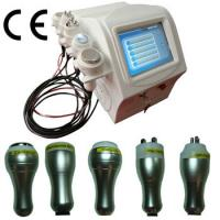 Multifunctional Ultrasonic Cavitation RF Skin Slimming Equipment For Beauty , 5 In 1 Manufactures