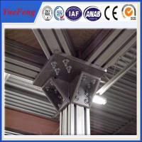 Quality roller material profiles aluminium extrusion,t slot extruded anodized aluminum for sale