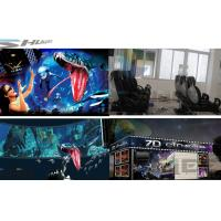 6 / 12 / 18 / 36 Persons 6D Movie Theater With Visual Impact, Special Effect System Manufactures
