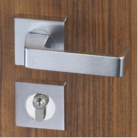 Easy Installation Mortise Door Lock Zinc Alloy Handle For 38 - 55mm Door Manufactures