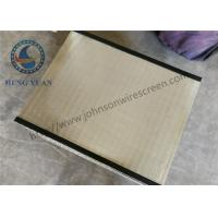 Buy cheap High Precision Wedge Wire Screen Panels Filter Grate 1219 Length 0.5mm Slot Size from wholesalers